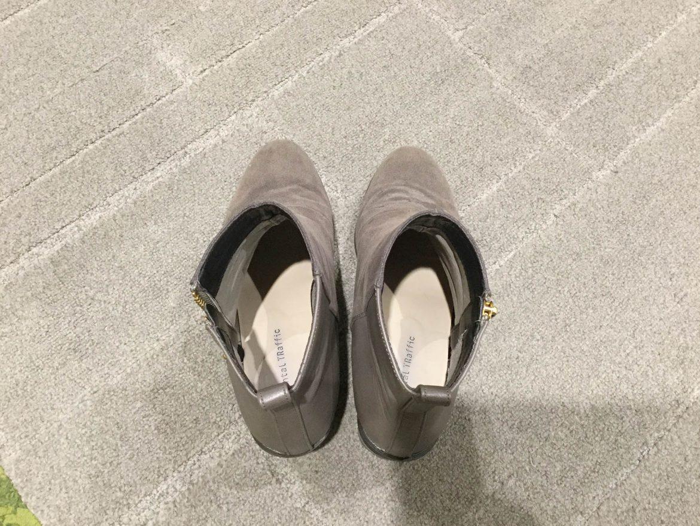 グレーブーツの履き間違い