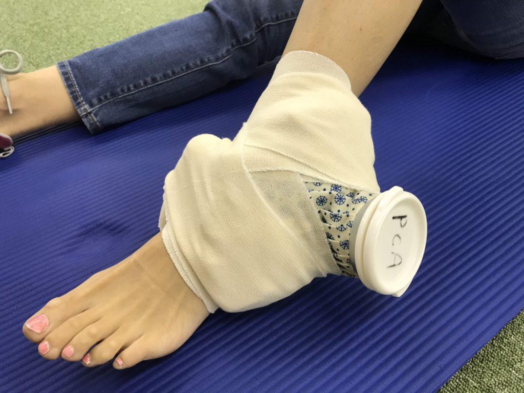 ねんざ 足首 足首のねんざ後の正しい治療とは!?